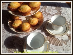 Crunchy Leomn Muffins 8