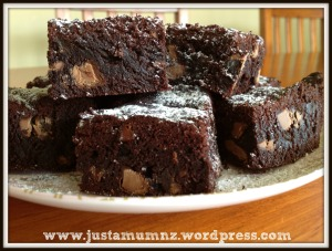 chocolate brownie 7