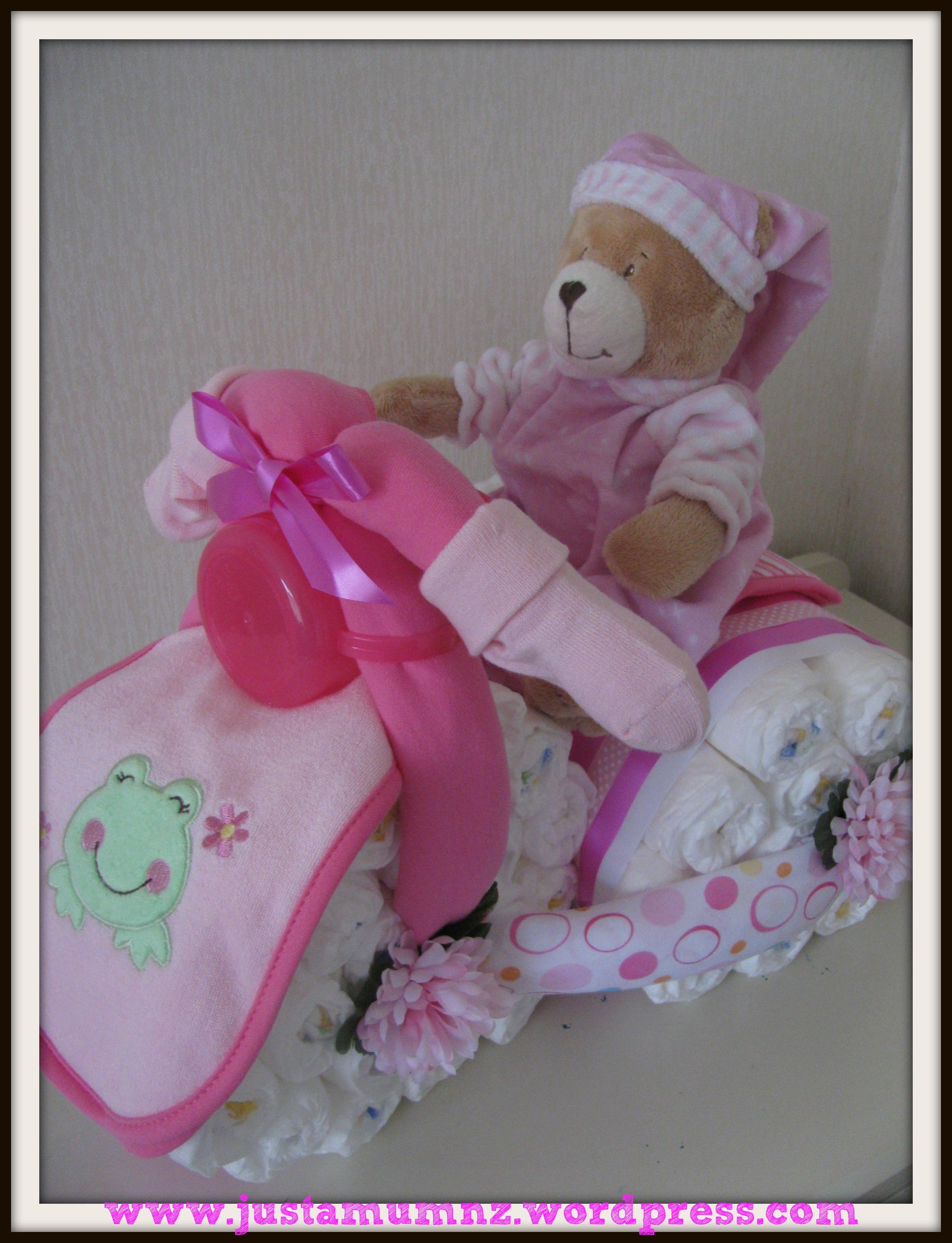 Handmade Baby Gift Just A Mum