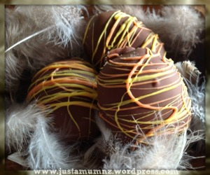 Coconut Ice Easter Eggs