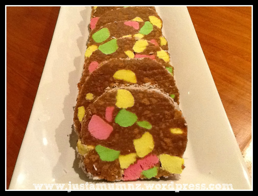 Fruit Puffs Lolly Cake Recipe