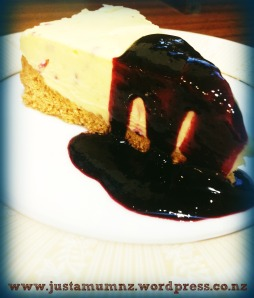 Divine White Chocolate Cheesecake with Berry Coulis