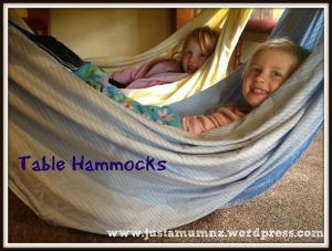 Table Hammocks - Simple Fun for Kids
