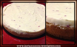 White chocolate cheesecake 8