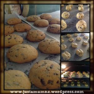 Orange Choc Chip Cookies 2