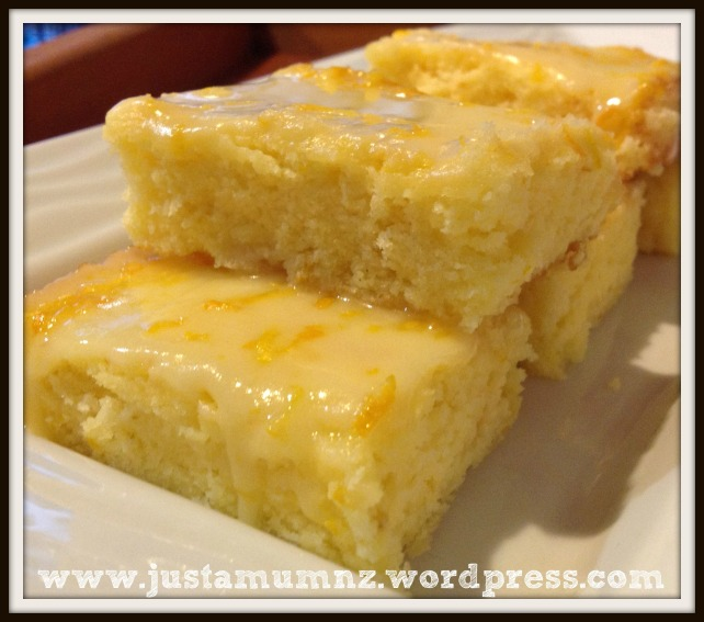 Delicious Lemon Brownies