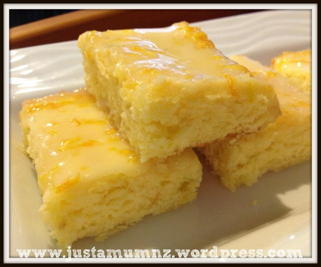 Lemon Brownies 8